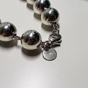 Tiffany & Co. Jewelry - Tiffany & Co Hardware Sterling Bead Bracelet